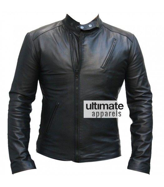 Ironman 1 Movie Tony Stark Black Replica Leather Jacket Leather Jacket Jackets Black Jacket