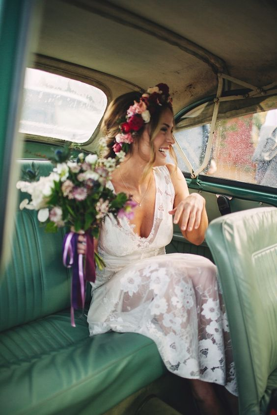 Gardenia #ClaireBride in lovely lace from Romantique by Claire Pettibone https://romantique.clairepettibone.com/collections/bohemian-rhapsody-boho-wedding-dresses/products/gardenia: