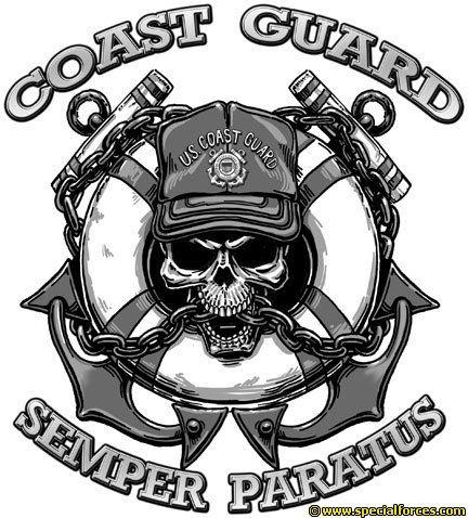 coast guard with skull tattoo tattoos pinterest coast guard skulls and skull tattoos. Black Bedroom Furniture Sets. Home Design Ideas