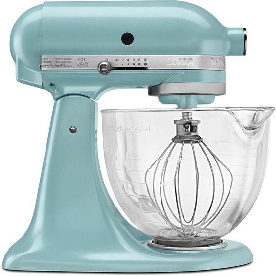 KitchenAid Artisan Designer 5 Qt. Azure Blue Stand Mixer