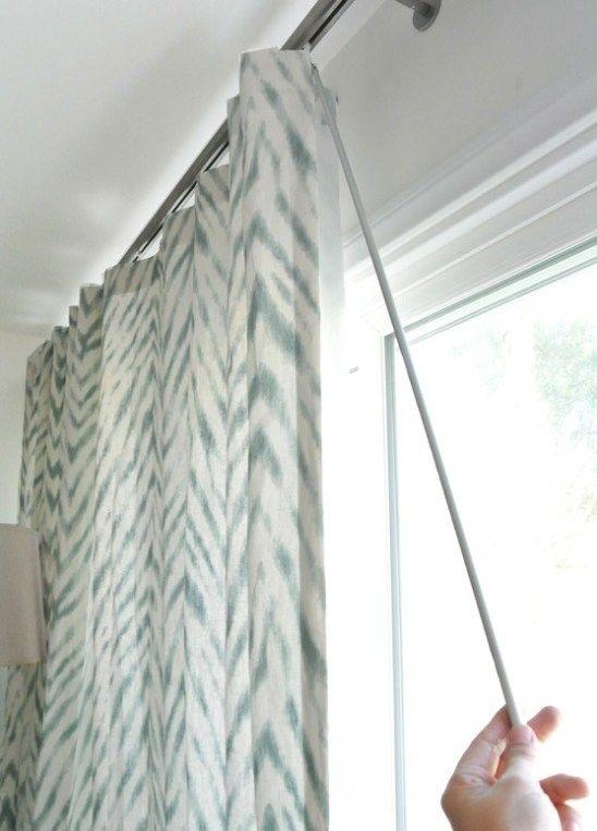 A Stylish Window Treatment For Sliding Doors Window Treatments