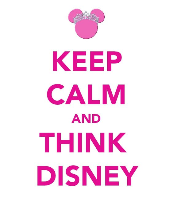 Always think Disney!