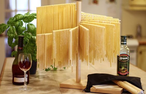 La Spirale - Home: a genius pasta drying rack!