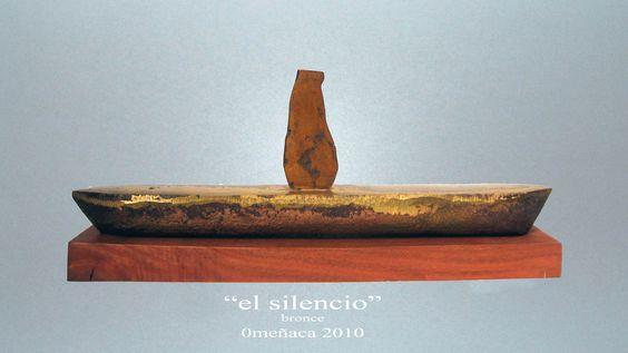 """""""EL SILENCIO"""", BRONCE, 2010"""