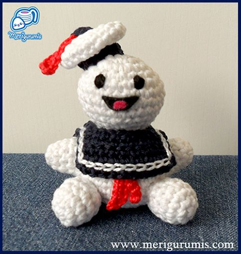 Amigurumi Ghostbusters : Ghost busters, deviantART and Ghosts on Pinterest