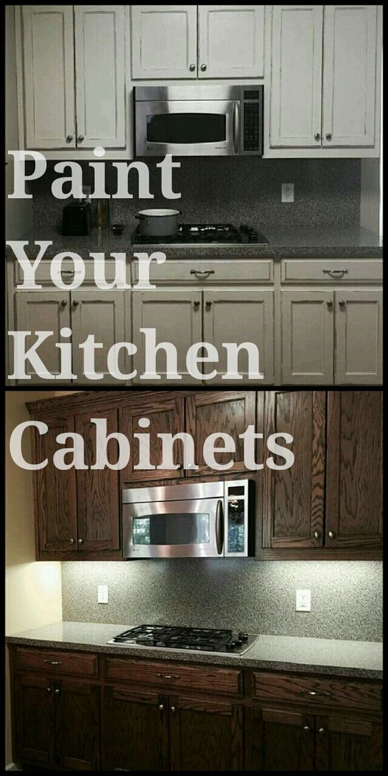 paint your kitchen cabinets with rethunk junk paint ForCe Kitchen Cabinets