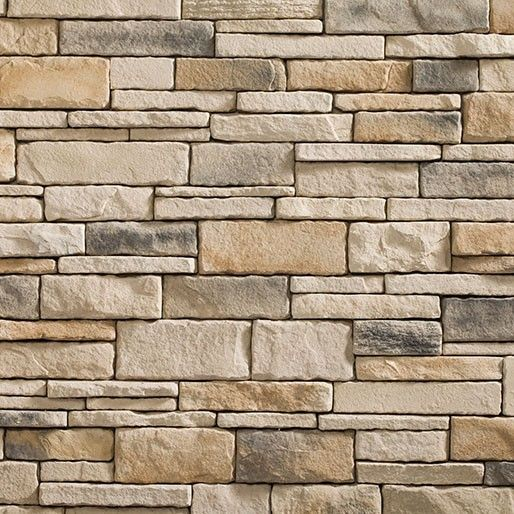 Fireplace heritage lakepointe drystack corners brick for Brick and stone veneer