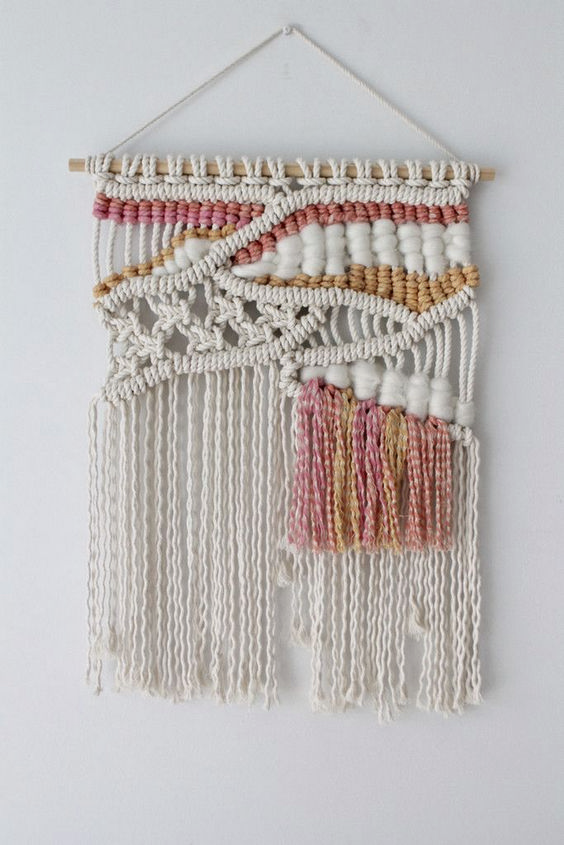 Beautiful Wall Hanging Macrame Idea (38)