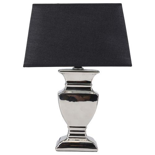 EUR 9.95 - tafellamp silver plated E27 max.40W - 100 Nieuwste - Action ...
