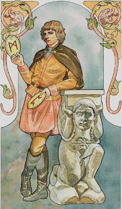 Page of Pentacles - Sorcerers Tarot