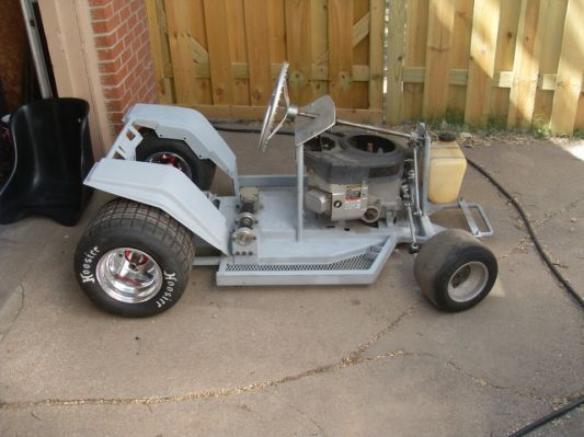 Tractor Chassis Design : Source sepw lawn mower racing