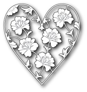 Memory Box Die - Ferrand Heart - Scrapbooking Made Simple