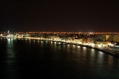 When the night falls our island becomes a lighted jewel in the middle of the Caribbean...