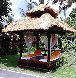 Gazebo en bambou pergola en bambou mobiliers en bambou dimensions sur mesu - Pergola bambou jardin ...