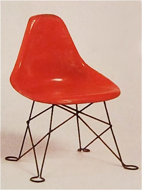 charles and ray eames experimental chair for children