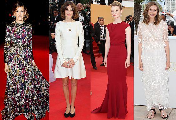 Todo el Glamour de #Cannes 2012