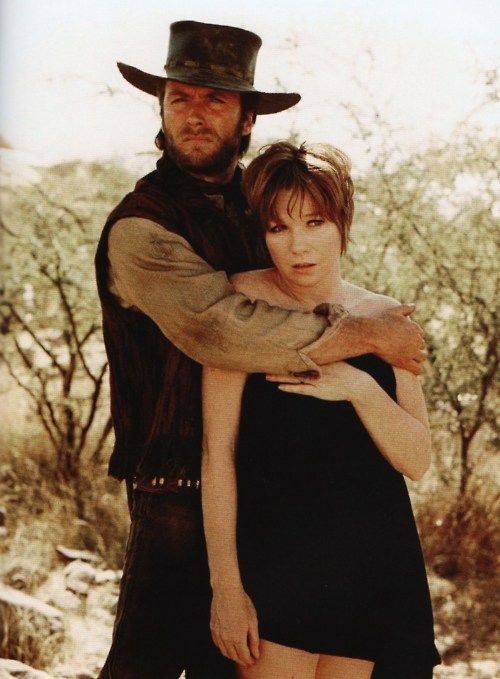Clint Eastwood and Shirley MacLaine in Two Mules For Sister Sara (1970)