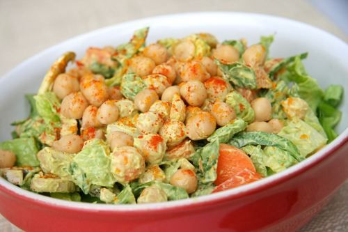 Avocado Tahini & Chickpea Salad   Delicious   Pinterest   Tahini ...