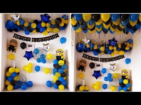 Pin On Balloon Decoration In Pune Birthday Balloons Decoration