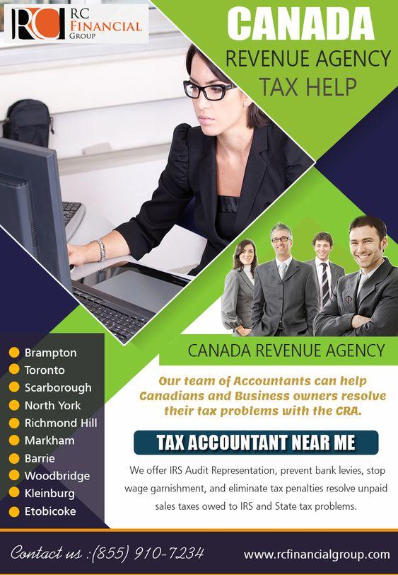 Canada Revenue Agency Tax Help
