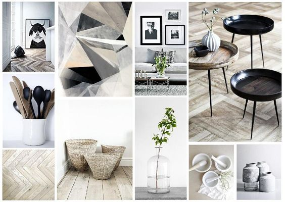 TIPS FOR A MINIMALIST LIVING ROOM MOOD BOARD CREATED ON