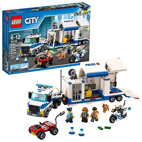 Lego Lovers Here Is An Amazing Deal On The Lego City Police Mobile Command Center Building Set For Only 26 9 Lego City Police Lego City Mobile Command Center