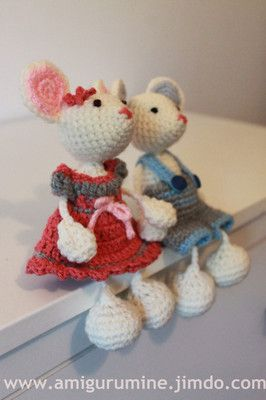 Pdf Pattern, baby tooth box mouse AmiguruMINE - Crochet -  tuto amigurumi gift for child, lovey,toys...