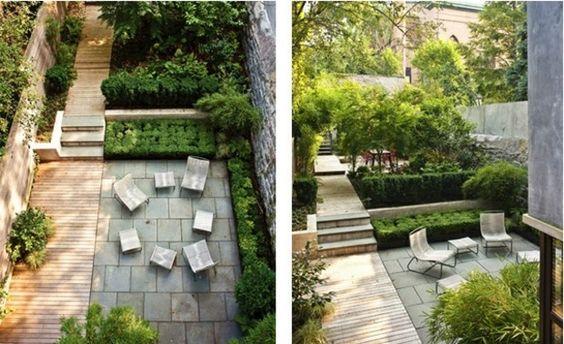 Le jardin moderne - le style épuré au coeur du design