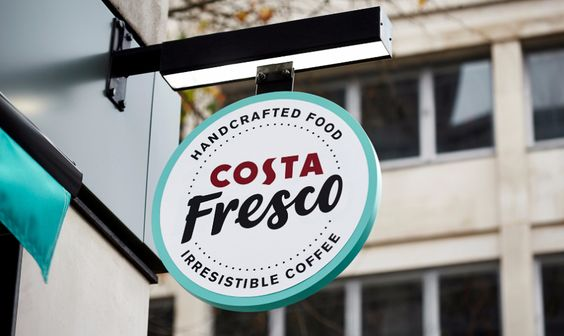 Translating into food focused brand - Costa Fresco case study by Our Design Agency