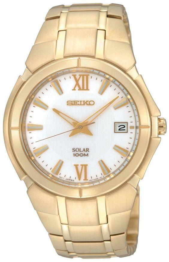 Seiko Men's SNE090 Dress Solar Watch #SEIKO #SEIKOWATCHES #SEIKOMENS #MENSWATCHES #AMAZONSHOPPING #MULTIWATCHBRAND