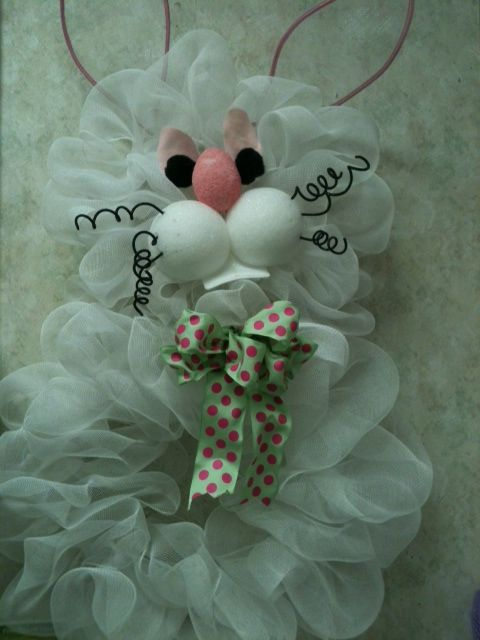 mesh bunny: 15 Wreaths, Easter Spring Wreaths, Deco Wreaths, Mesh Bunny, Wreaths Mesh, Easter Wreaths, Mesh Wreaths, Deco Mesh