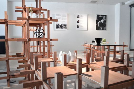kengo kuma + associates: chidori furniture