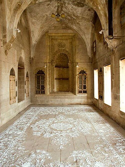 Wow...Lace Floor