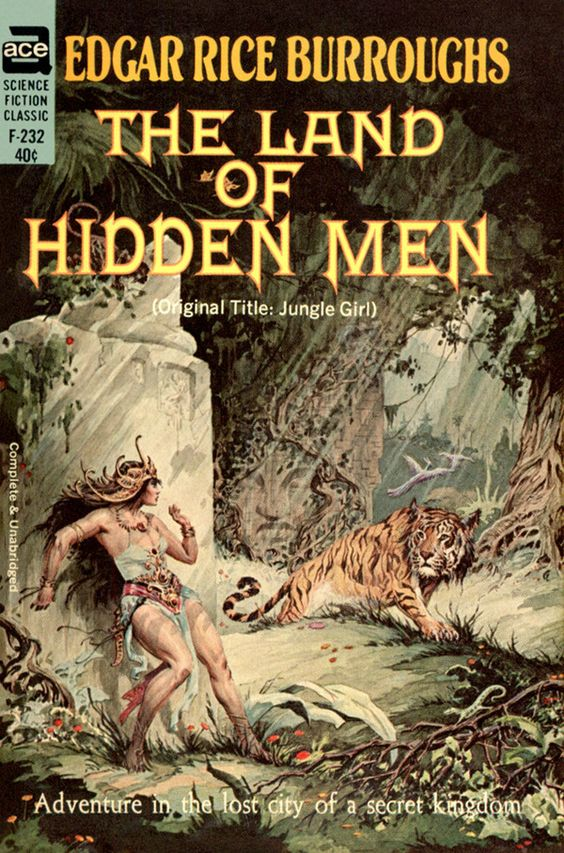 The Land of Hidden Men (Original Title: Jungle Girl):