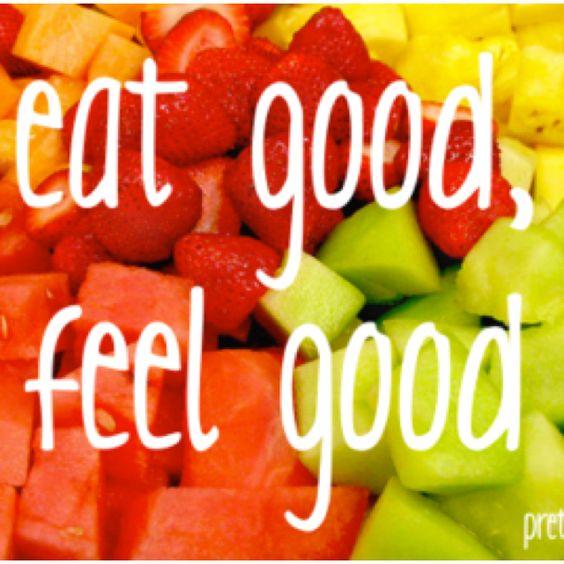 Eat good...