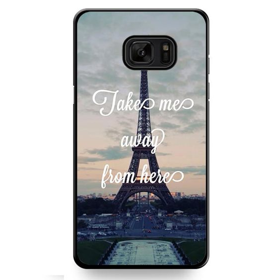Take Me Away From Paris TATUM-10438 Samsung Phonecase Cover For Samsung Galaxy Note 7