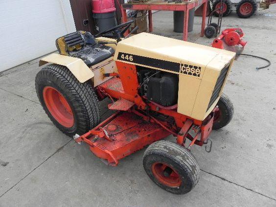 Case 446 Parts : Case hydro garden tractor lawn mower big wheel onan