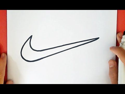 How To Draw The Nike Logo Symbol Emblem Youtube Nike Symbol Nike Drawings