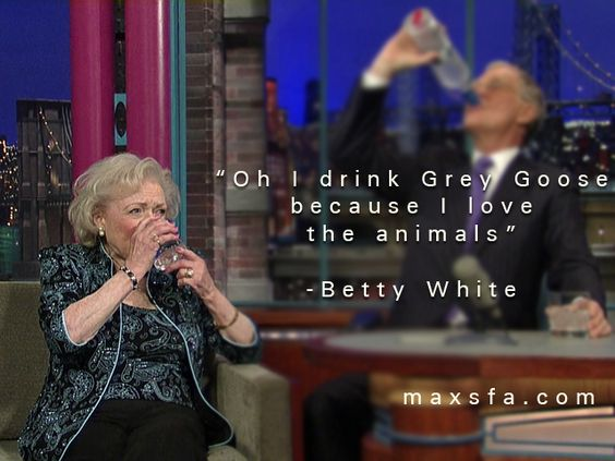 Canada Goose parka outlet official - Betty White Grey Goose Quote | Maxsfa Media-Home of the Unbeatable ...