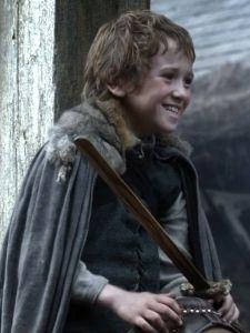 Medieval little boy: