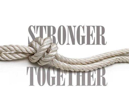 Resultado de imagen de solos podemos hacer tan poco juntos podemos