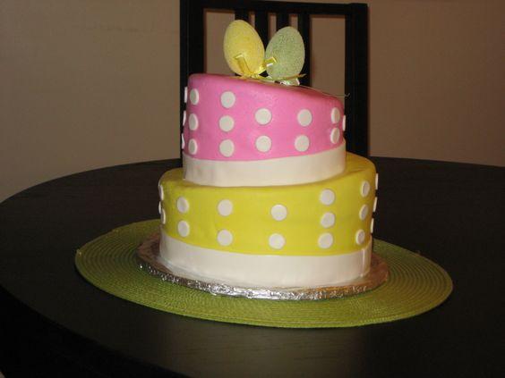 Topsy Turvy Easter Cake