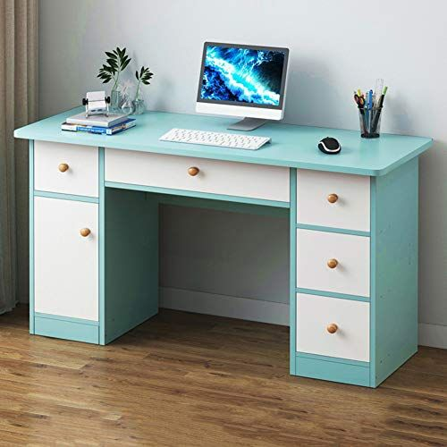 Jiaqi Writing Computer Desk With Side Drawer Efficient Home