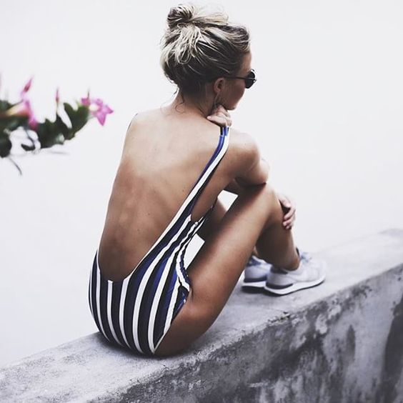 The Swimwear Brand Making a Social Splash - Solid and Striped-Wmag