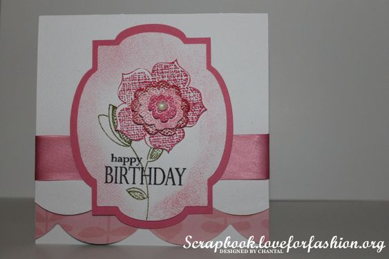 Raining Flowers - Stampin' Up!