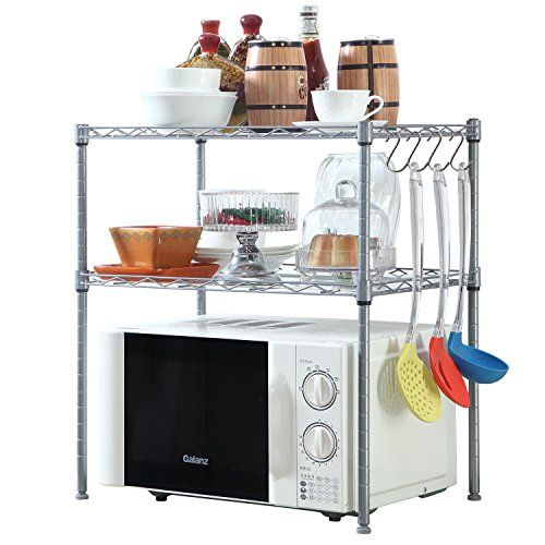 The Best Kitchen Countertops Organizers To Keep Your Kitchen Tidy Swankyden Com Kitchen Storage Shelves Kitchen Shelving Units Kitchen Counter Storage