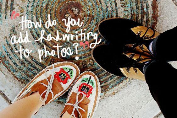 1 Wie Sie die Handschrift Fotos hinzufügen?