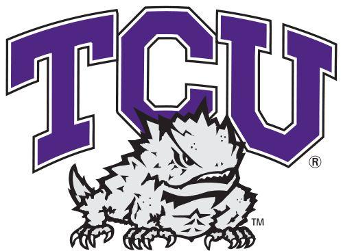 TCU Horned Frogs Football Team logo - Texas Christian University