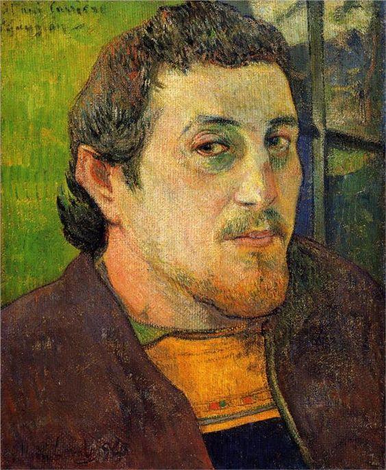 Paul gauguin self portrait 1888 paul gauguin - Autoportrait van gogh oreille coupee ...