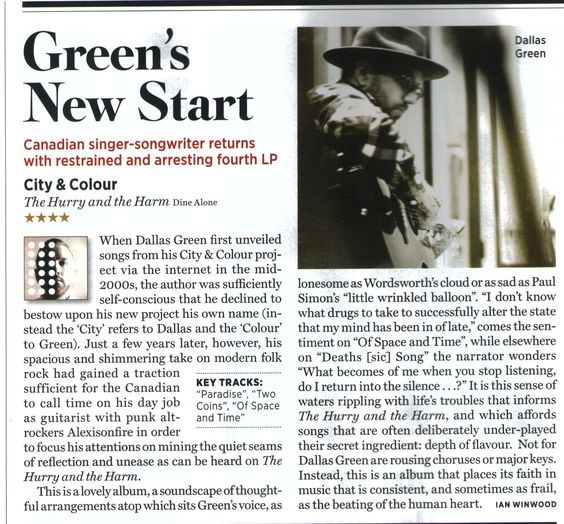 RollingStone Cityandcolour JulyReview